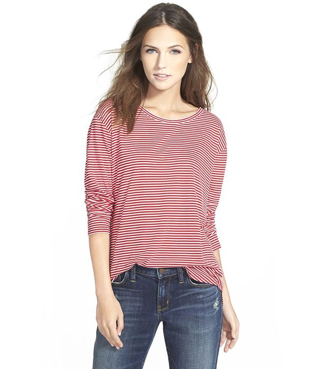 Ace Delivery Long Sleeve Stripe Tee