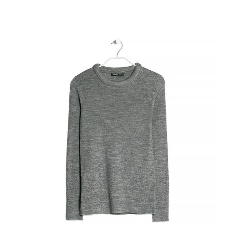 Textured Shoulder Sweater (Similar)