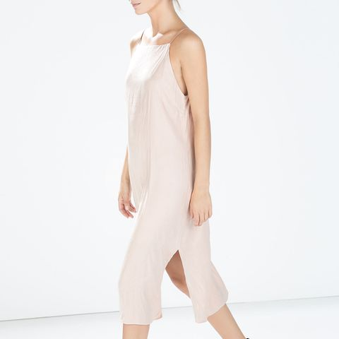 Slip Dress with Slits