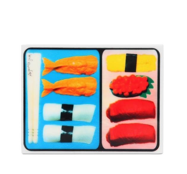 Au Jour Le Jour Sushi Box Perspex Clutch