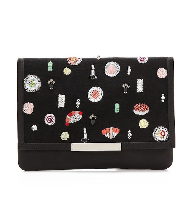 Lizzie Fortunato Sushi Bun Port of Call Clutch