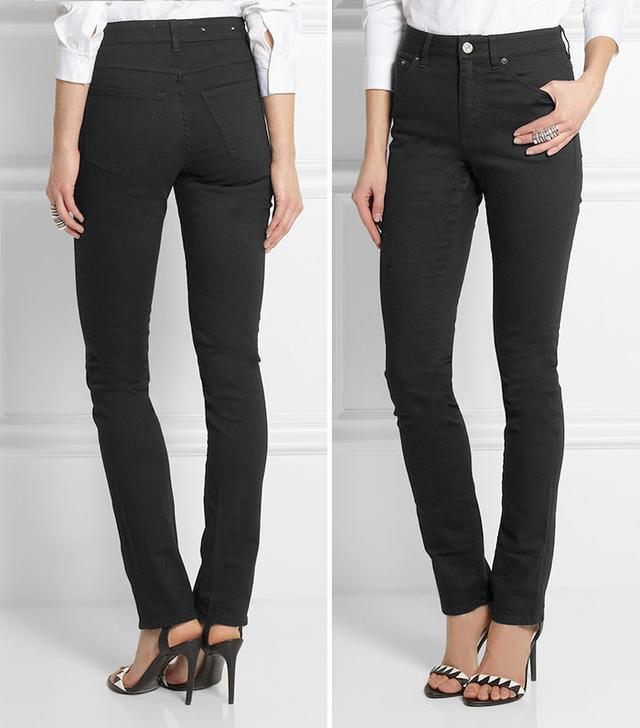 Acne Needle Skinny High-Waisted Jeans