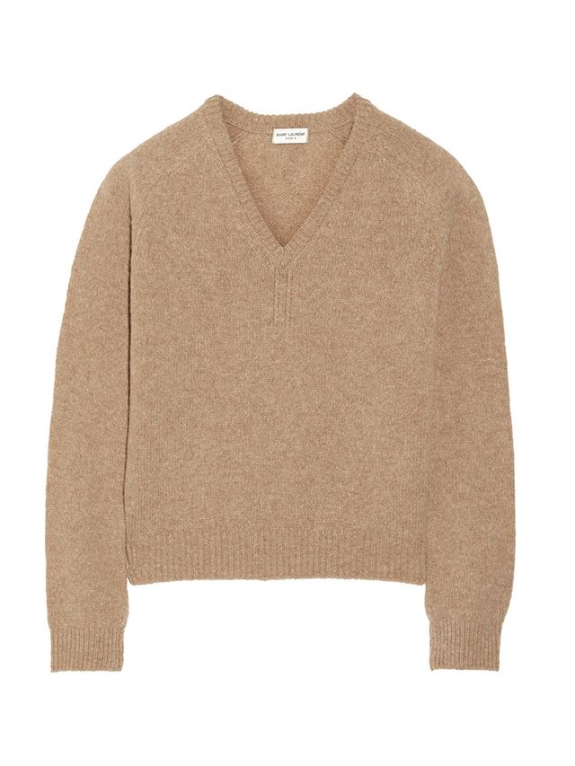 Saint Laurent Wool and Cashmere-Blend Sweater