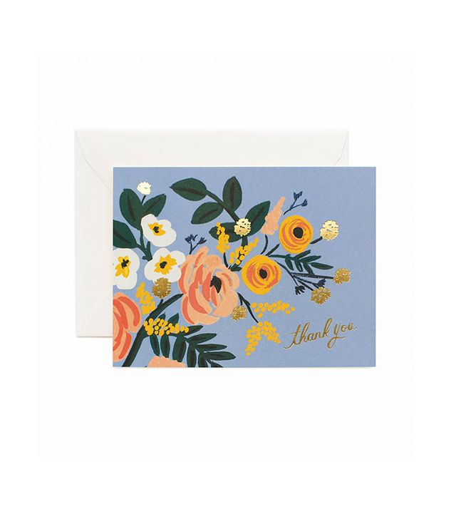 Rifle Paper Co Robin Thank You Greeting Card