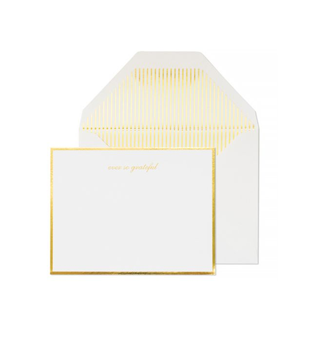 Sugar Paper Classic Grateful Thank You Note Set