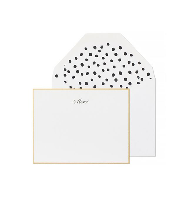 Sugar Paper Sophisticated Merci Thank You Notes