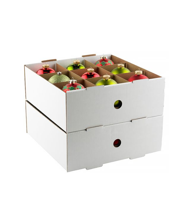 The Container Store Corrugated Large Ornament Storage Trays
