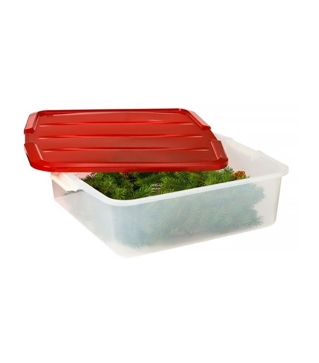 The Container Store 18-Inch Clear Wreath Box