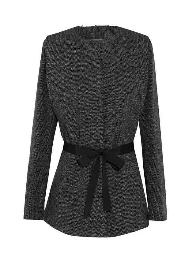 Isanel Marant Flo Herringbone Wool-Tweed Jacket