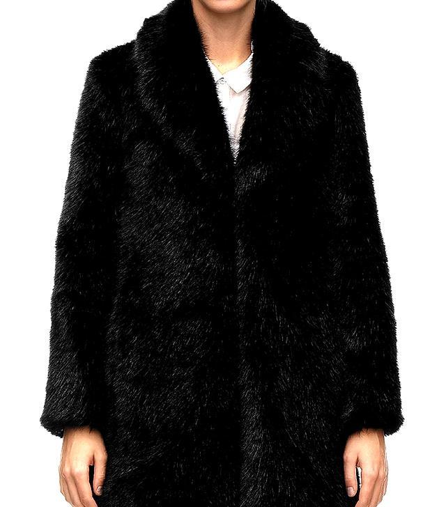 Whistles Kumiko Faux Fur Coat