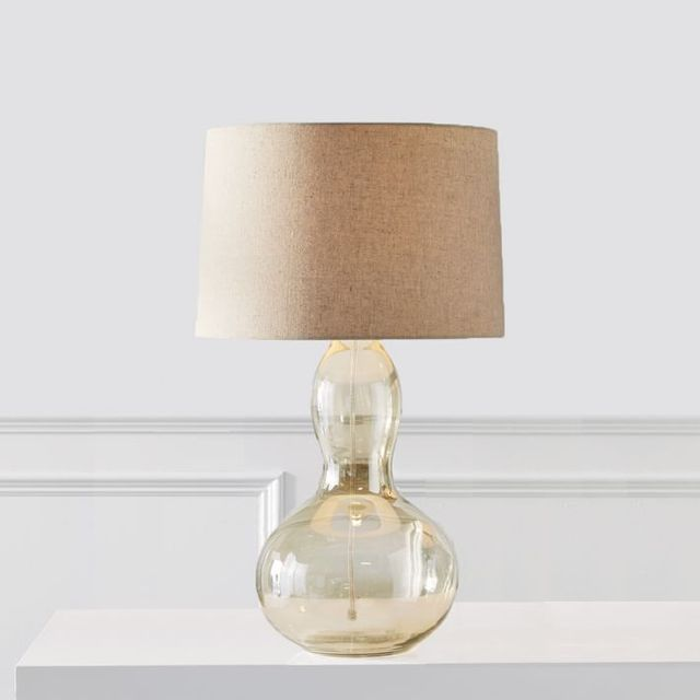 West Elm Gourd Table Lamp in Luster