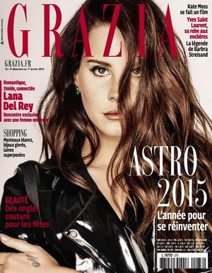 Lana Del Rey's Ultra-Cool Spread For Grazia France