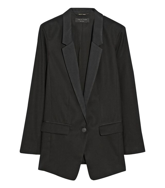 Rag & Bone Ines Oversized Wool Blazer
