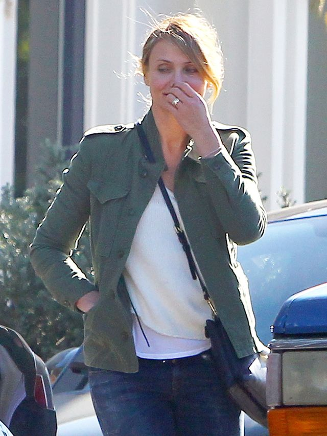 See Cameron Diaz's Engagement Ring!