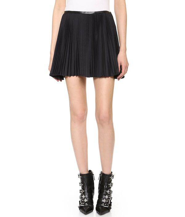 Ohne Titel Pleated Skirt