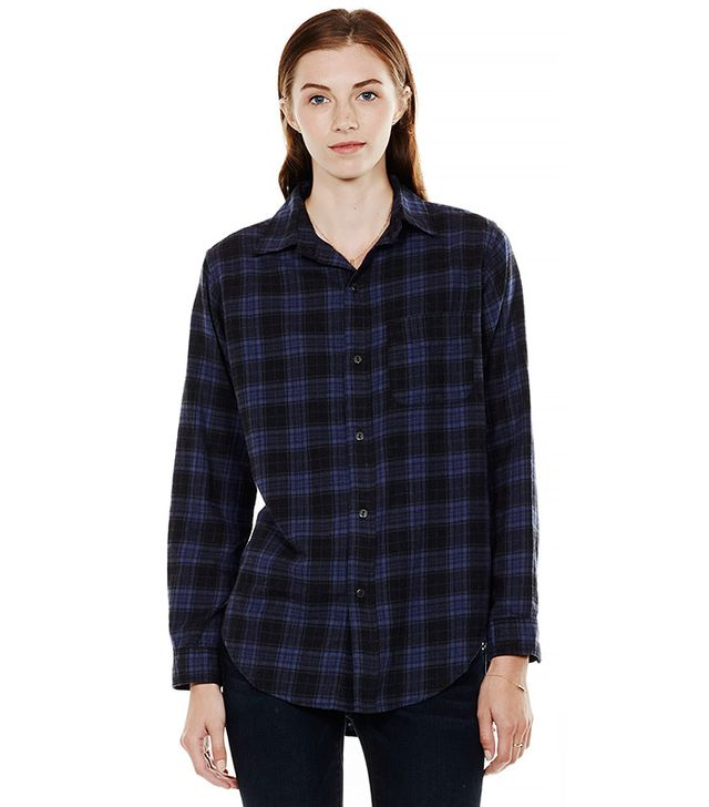 Current/Elliot The Prep School Shirt in Cabin Plaid
