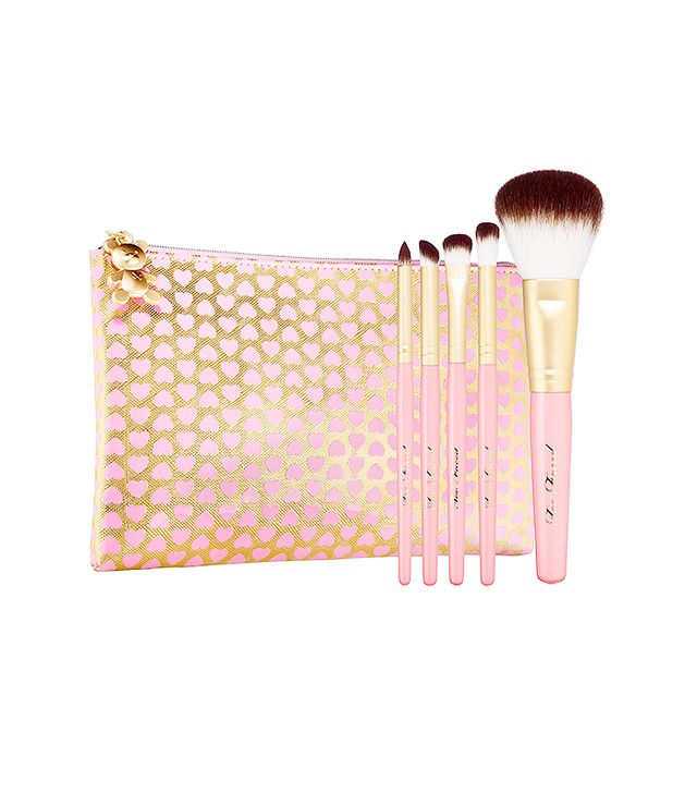 Too Faced Teddy Bear Hair 5 Piece Brush Set