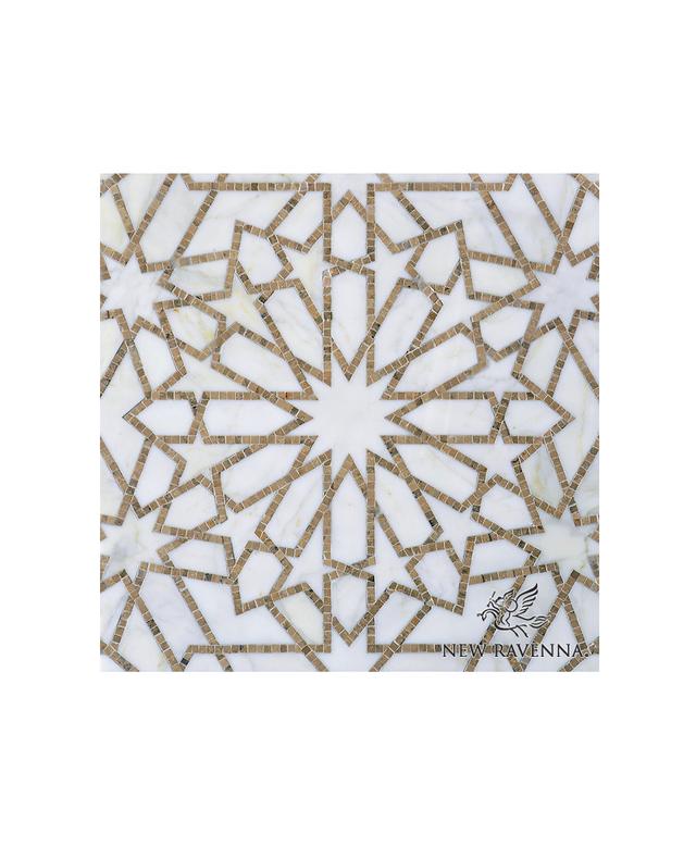 New Ravenna Mosaics Castilla Stone Mosaic Tile