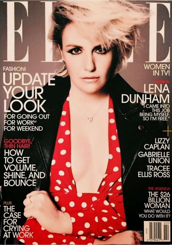 Lena Dunham magazine cover