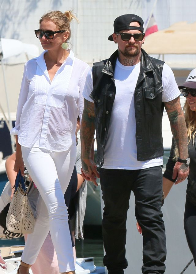 Wow: Cameron Diaz and Benji Madden Reportedly Getting Married Tonight