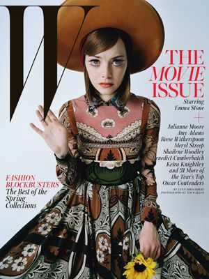 W Magazine's 7 'Best Performances' Movie Issue Covers
