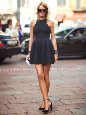 You Won't Believe the Sexy History Behind the Little Black Dress