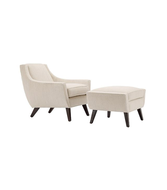 Michael Berman Limited Summit Lounge Chair and Ottoman