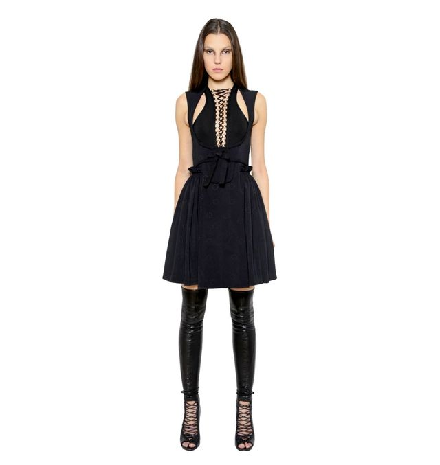 Givenchy Silk Jacquard Corset Dress & Bodysuit