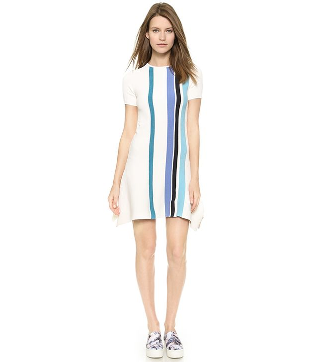 Opening Ceremony Stripe Handkerchief Dress