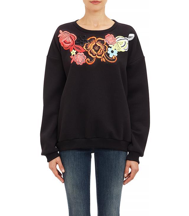 Christopher Kane Appliqued Sweatshirt