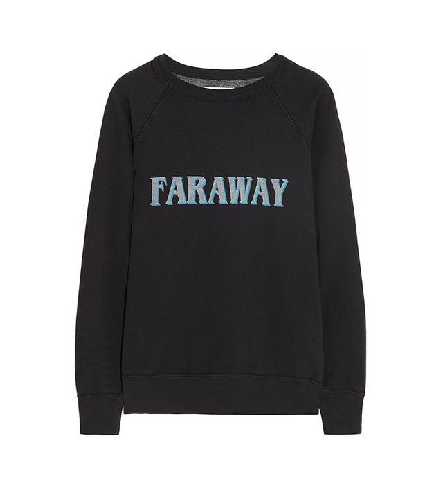 Etoile Isabel Marant East Printed Cotton-Jersey Sweatshirt