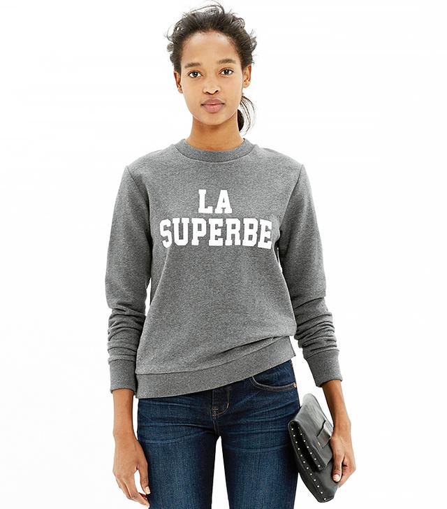 Madewell Et Sezane La Superbe Sweatshirt