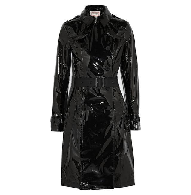 Hunter Original Waterproof PU trench coat