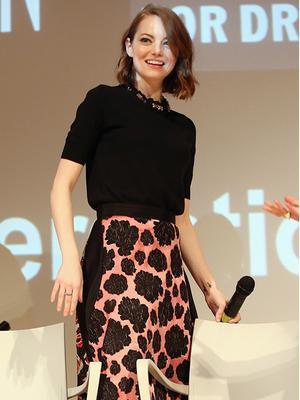 Recreate Emma Stone's Perfectly Feminine Look