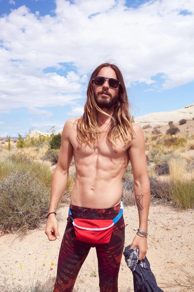 Because Of Course: Jared Leto Is Now Modelling and Selling Fanny Packs