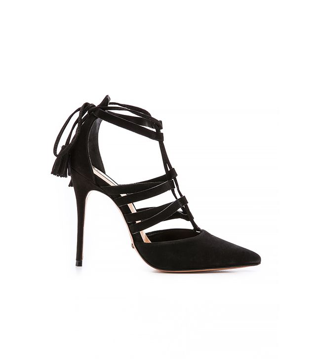 Schutz Zora Lace-Up Sandals