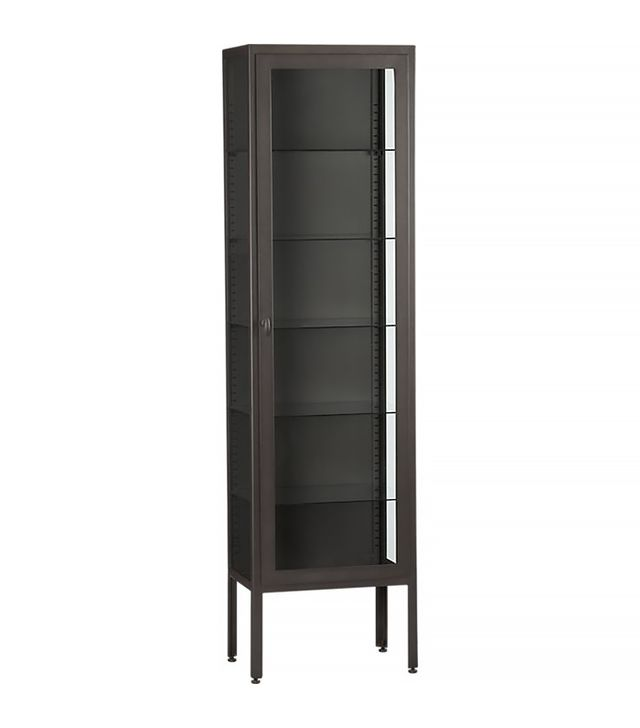 Crate & Barrel Sterling Tall Cabinet