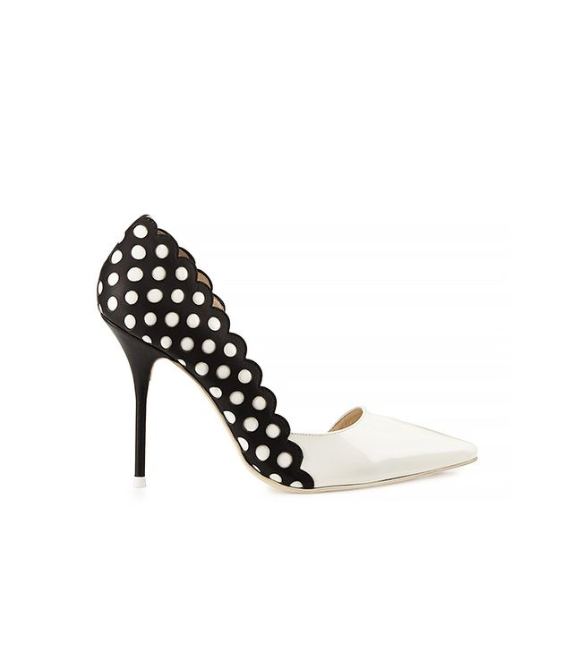 Sophia Webster Mika Polka Dot Leather Pump