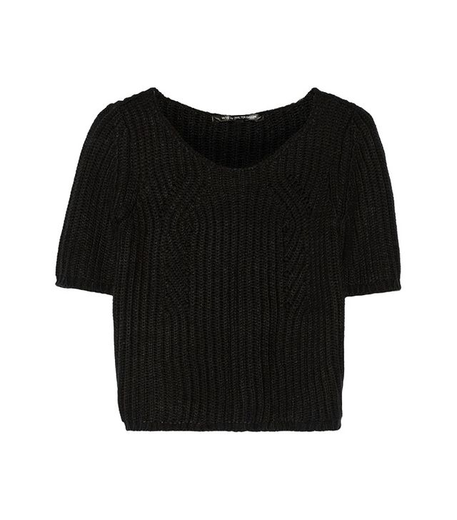 W118 by Walter Baker Tamara Crochet-Knit Sweater