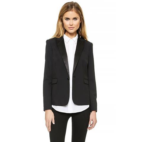 Katy Peaked Collar blazer