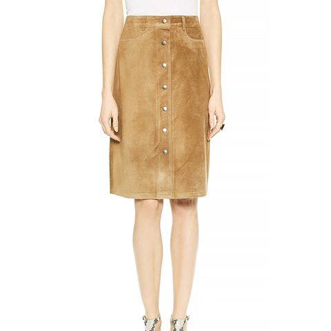 Classic Suede Pemma L Skirt
