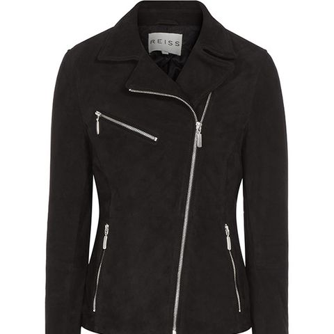 Mick Suede Biker Jacket
