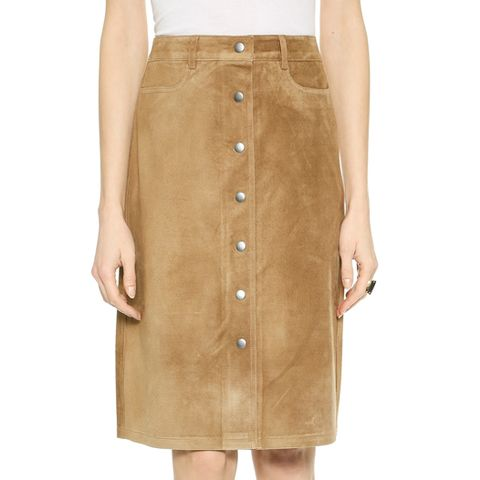 Classic Suede Pemma Skirt