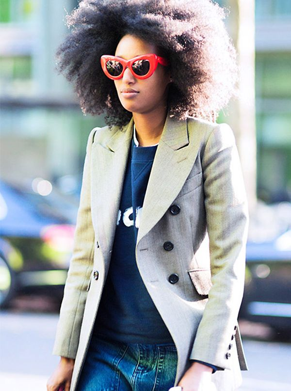 Tip 4: Add a pop of color with sunglasses.