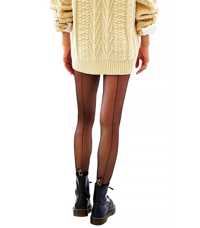 Urban Outfitters Classic Back Seam Tights