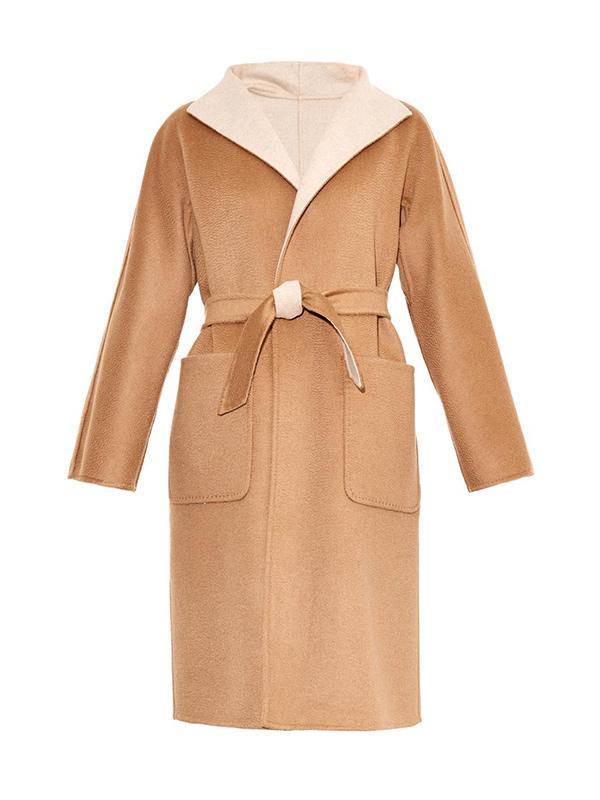 Max Mara Camel Patch Pocket Coat