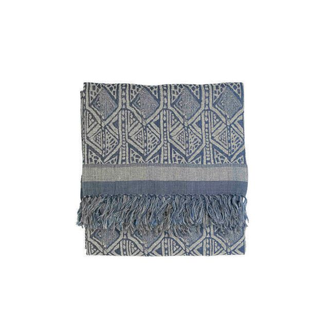 Broste Copenhagen Silk and Wool Throw