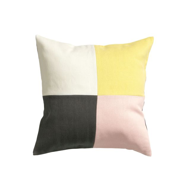 H&M Home Colour-Block Cushion Cover