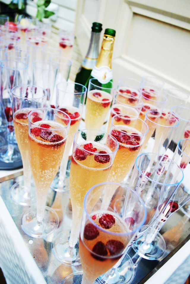 Who hosts the engagement party and when should it be held?