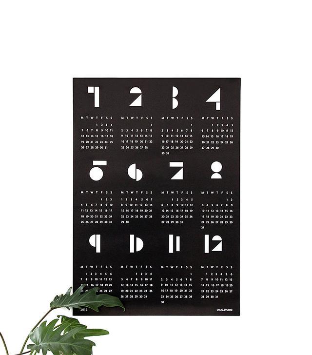 Snug Studio Toy Blocks Calendar